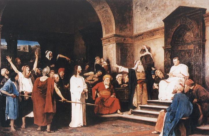 Le Christ devant Pilate de Mihály Munkácsy 1881