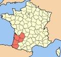 La politique des régions: Aquitaine