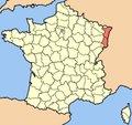 La politique des régions: Alsace