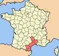 La politique des régions: Languedoc-Roussillon