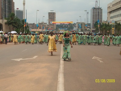 Défilé du 8 mars à Yaoundé