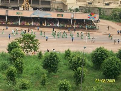 Panorama du défilé