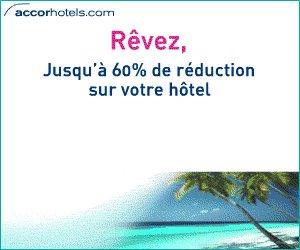 Promotion: Réservez votre hôtel partout dans le monde!