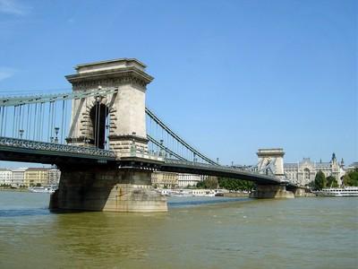 le pont des Chaînes, Lanchid, à Budapest