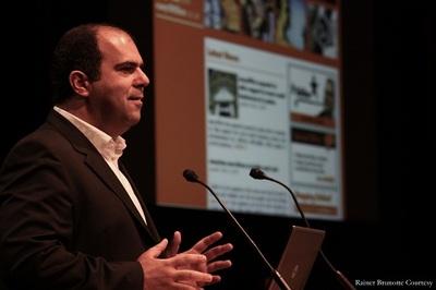 Stelios Haji-Ioannou, fondateur d'EasyGroup. Photo courtoise