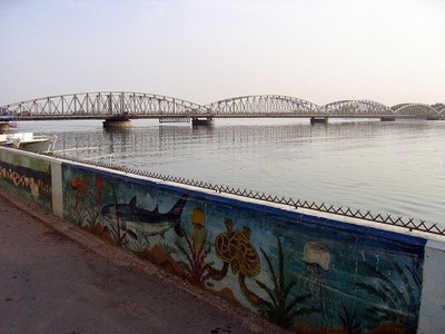 Pont Faidherbe à Saint-Louis du Sénégal, photo de Manuele Zunelli