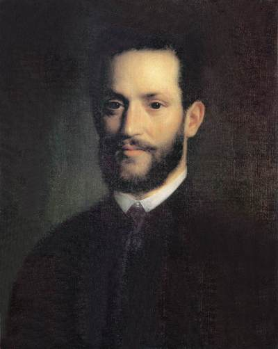 Ármin Vámbéry peint par Mihály Kovács en 1861.