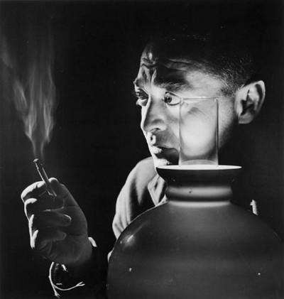 Peter Lorre photographié en 1946 par Yousuf Karsh