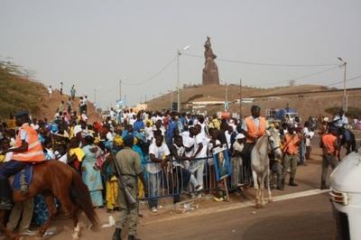 Inauguration du monument de la renaissance africaine (C) Elhadji Babacar Mbengue
