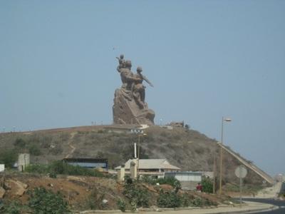 Une vue du monument (C) Elhadji Babacar Mbengue