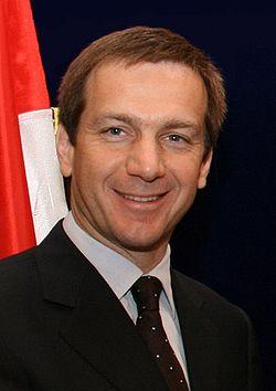 Gordon Bajnai, actuel Premier ministre hongrois, jusqu'au 25 avril 2010 (photo Itzik Edri )