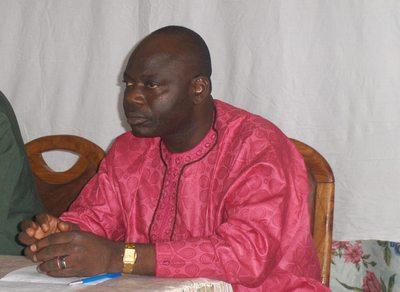 Soulé Alagbé, nouveau président consensuel de l'Association nationale des communes du Bénin (ANCB). Photo (c) G.L.
