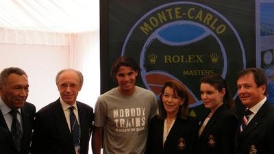 Rafael Nadal, quintuple vainqueur aux Masters de Monte-Carlo. Photo (c) Eva Esztergar