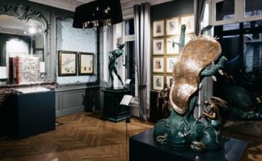 La Rosière d'Artois accueille l'exposition dédiée à Salvador Dalí. Photo courtoisie (c) La Rosière. Cliquez ici pour accéder au site