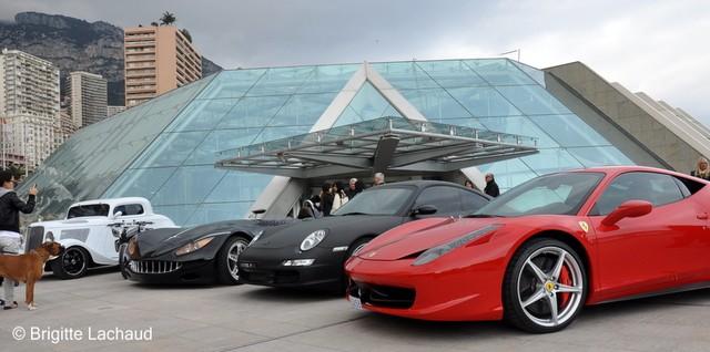 Tesla, Ford P Hotrod project, Lazareth Motobike, Veritas, Porsche Ed Hardy par Christian Audigier, Ferrari 458 Italia