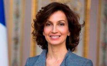 Audrey Azoulay. Photo (c) Didier Plowy