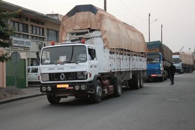 Il y a désormais plus de fluidité sur le corridor Conakry-Kourémalé. Photo (c) DR
