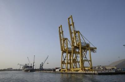 Des portiques reçus en 2009 grâce au partenariat avec DP World. Photo (DR)