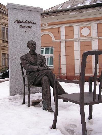 Statue de Sándor Márai à Košice. Photo (c) DR