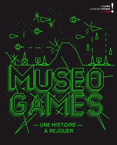 Visuel de l'exposition MuseoGames présentée du 22 juin au 10 novembre 2010 © Musee des arts et metiers/Agence Trafik