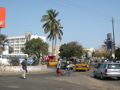 Le rond point de Colobane (C) Elhadji Babacar MBENGUE
