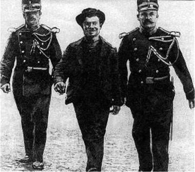 L'anarchiste Luigi Lucheni