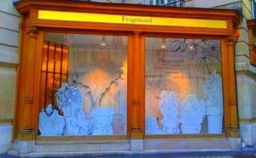 Le Musée du parfum Fragonard à Paris. Photo prise par Sarah Barreiros.