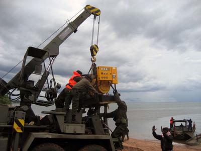 Ce sont les forces armées de la RDC qui exécutent les travaux de dragage (DR)