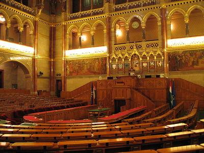 Le Fidesz a désormais les deux tiers de députés au parlement (c) Michael Krahe