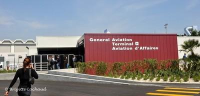 AEROPORT DE NICE COTE D'AZUR - UN NOUVEAU TERMINAL POUR L'AVIATION  D'AFFAIRES VIP