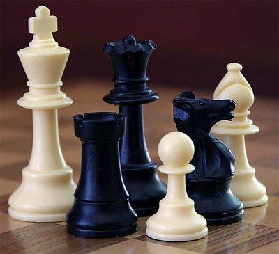 Pièces d'échecs photographiées par Alan Light