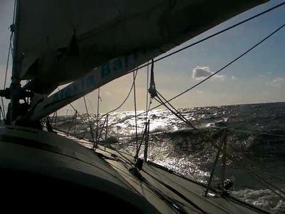 Glissades sur l'Atlantique nord