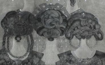 Photo courtoisie représentant un extrait de l'œuvre de Christian de Laubadère (c) ArtCN Gallery