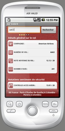 Application Compagnies Aériennes gratuite sur Android
