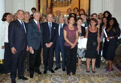 Diplomati Dante Alighieri a autorità (c) Maria Bologna