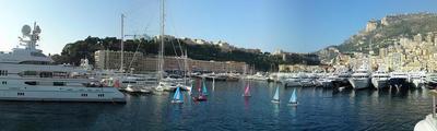 Vue panoramique du Port Hercule. Photo (c) Eva Esztergar