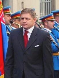 Robert Fico, le Premier ministre slovaque, favori des prochaines élections du 12 juin. Photo (c) Qorilla / Democratic Party