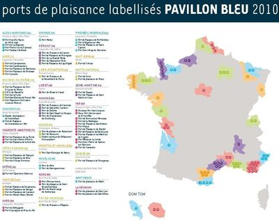 Ecolabel: 341 plages obtiennent le pavillon bleu pour 2010