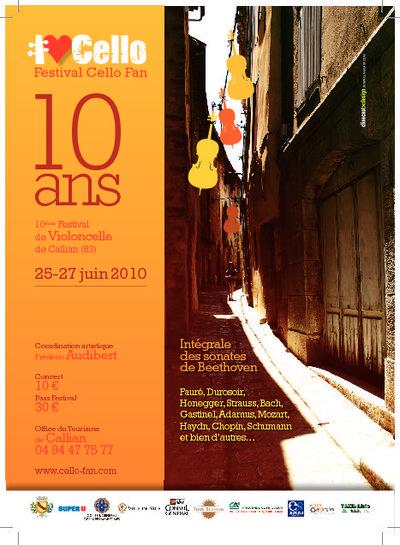 Le festival de violoncelles Cello Fan fête dix ans de musique