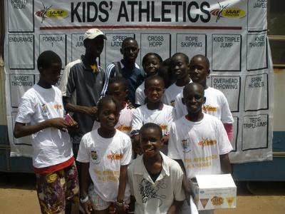 L' équipe de l'école Mbaye diagne Dégaye(C) Elhadji Babacar MBENGUE