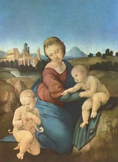 Madone Eszterházy de Raphaël