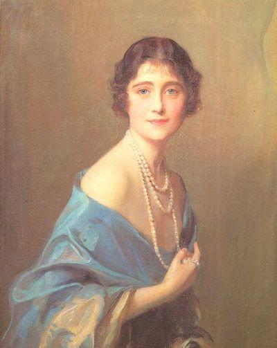 La duchesse d'York en 1925, portrait de Philip de László