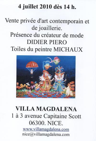 EXPOSITION D'ART CONTEMPORAIN ET DE BIJOUX