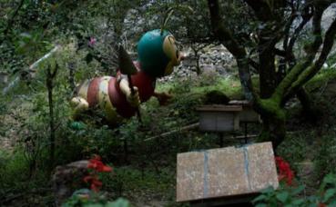 Photo prise par l'auteur au musée du miel dans les Cameron Highlands
