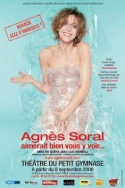 Agnès Soral ne demande qu'à vous y voir!