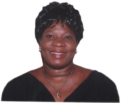 Mme Lydia Sessi Loko, présidente de l'ONG Initiative pour la Citoyenneté et le Développement (ICD).