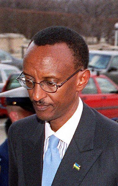 Paul Kagame, président de la République du Rwanda (Wikipedia commons - R. D. Ward)