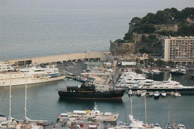 L'arrivée au Port Hercule. Photo (c) Amaury van Hoorebeke