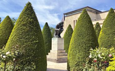 Auguste Rodin, Le Penseur. Photo (c) Charlotte Service-Longépé