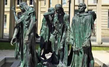Rodin, Les Bourgeois de Calais. Photo (c) Charlotte Service-Longépé